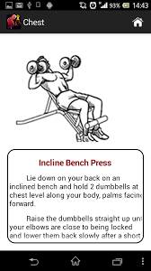 Bench Workout Routine Dumbbell Muscle Workout Plan T Android Apps On Google Play