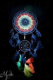 light up the darkness bob marley customized dreamcatcher for