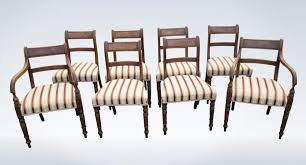 Antique Regency Dining Chairs Set 8 Antique Regency Dining Chairs