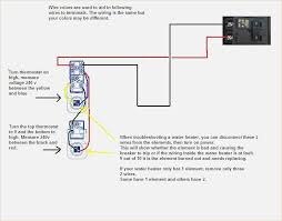 charming water heater wiring diagram dual element ideas electrical