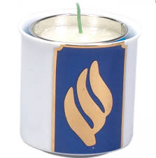 yahrzeit candle where to buy shop for yahrzeit memorial candle with porcelain votive westwood
