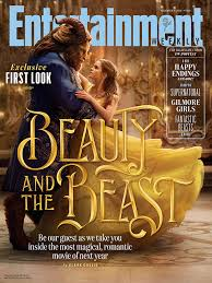 beauty beast ew cover spotlights disney film
