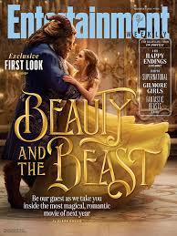 beauty beast ew cover spotlights disney film