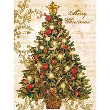 boxed christmas cards lang christmas tree boxed christmas cards walmart