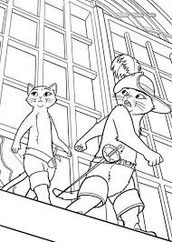 puss boots kitty softpaws coloring pages batch coloring
