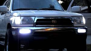 4th gen 4runner led tail lights 4runner led mod daytime driving strobe turn signal youtube