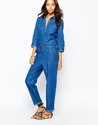 sleeve denim jumpsuit 22 creative denim jumpsuit playzoa com