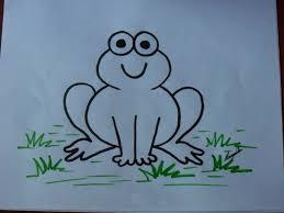 imagenes de un sapo para dibujar faciles como dibujar un sapo o rana how to draw a toad or frog con los