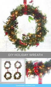 Holiday Wreath Homemade Modern Ep81 The Home Depot Holiday Wreath