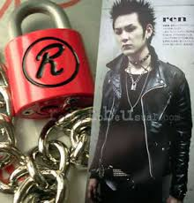 lock necklace punk images Nana punk sex pistols r lock padlock necklace chain red ebay jpg