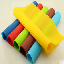 Dinner Table Protector by 6 Color Silicone Baking Mat Non Stick Pan Liner Placemat Table
