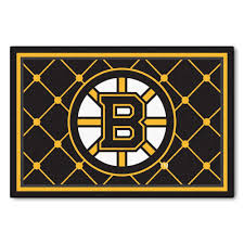 Area Rugs Okc by Fanmats Boston Bruins 5 Ft X 8 Ft Area Rug 10501 The Home Depot