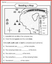 all worksheets reading maps worksheets printable worksheets