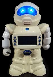 the sharper image coin counting robot bank the old robots web site
