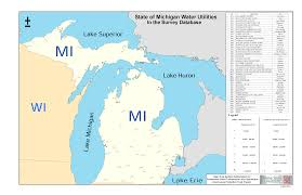 Map Of Wisconsin And Illinois by Great Lakes Water Utility Map Sustainable Water Delivery Wayne