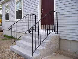 stair railings deck porch the home depot vinyl railing kits