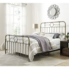 bronze metal pipe queen bed free shipping today overstock com