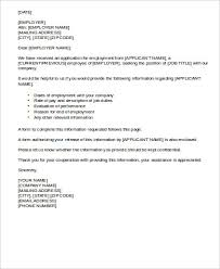 employment reference letter 8 free sample example format download