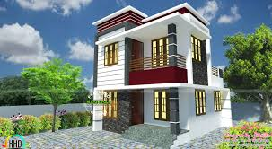 tiny modern home small south facing modern home kerala home design and floor plans