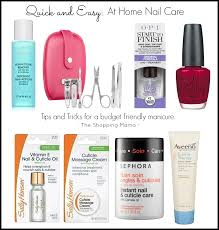 beauty news quick and easy tips for a home manicure the