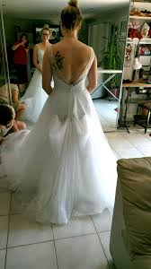 wedding dress bustle bustle on tulle dress show me yours