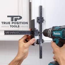 kitchen cabinet door hardware jig tp 1934 cabinet hardware jig true position tools