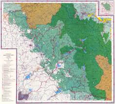 Map Of Fresno Gentry Off Road California Sierra National Forest Brewer