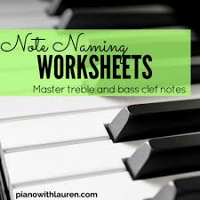 multi key worksheets pdf download piano with lauren