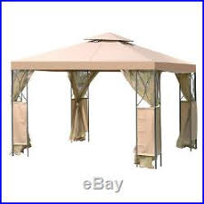 Gazebo Awning Patio Awnings Canopies And Tents 2 Tier