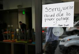 Pg E Power Outage Map Bart Montgomery Station Closed To To Power Outage Affecting 95 000