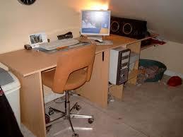 fabriquer un bureau informatique fabrication de bureau informatique multimédia hs idée divers