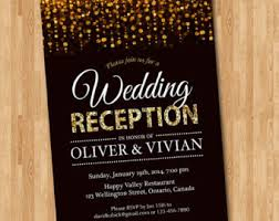 reception invitations wedding reception invitation chalkboard reception invite