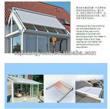 Awning Track Sun Shade Aluminum Track Retractable Roof Awnings Buy Roof