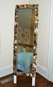Beachy Bathroom Mirrors by Seashell Crafts That Bring The Beach Into Your Home