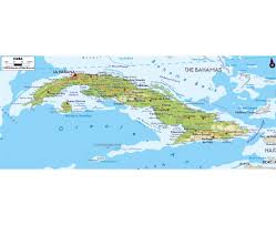 Map Of Cayman Islands Maps Of Cuba Detailed Map Of Cuba In English Tourist Map