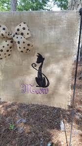 Welcome Flag Meow Flag Cat Collector Hostess Gift Garden Gift Garden Flag