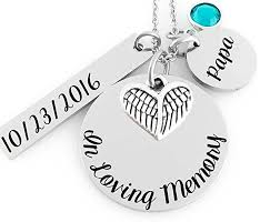 in loving memory charms memorial jewelry necklace in loving memory angel