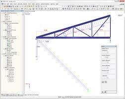 Free Timber Truss Design Software by Structural Analysis Software Rfem First Steps Dlubal Software