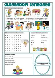 printable instructions classroom 18 free esl classroom instructions worksheets