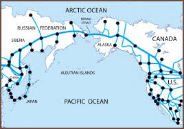 map usa russia join russia and usa by rail tunnels the bering strait