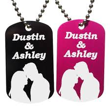 Personalized Dog Tag Necklace Personalized Dog Tag Necklaces U2013 Love Chirp Gifts