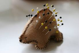 porcupine pin cushion pretty prudent