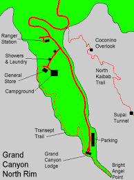 grand map lodging map of lodge area