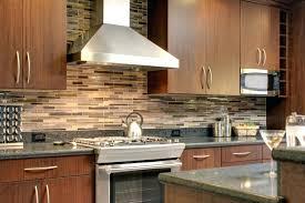 Light Brown Kitchen Brown Mosaic Tile Backsplash Kitchen Design Mosaic Kitchen Tiles