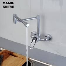 wall mounted faucets kitchen and cold kitchen faucet can be rotated wall kitchen faucet