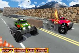 monster truck racing video chained monster truck racing android apps on google play