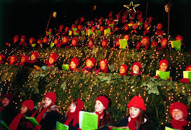 singing christmas tree christmas in zurich
