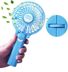 held battery operated fans portable mini fan uggadgets