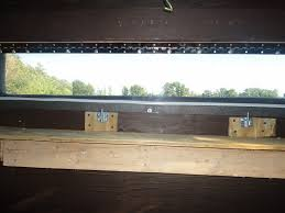 Sliding Deer Blind Windows Deer Blind Window Track The Good Functions Of The Deer Blind