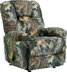 camouflage outdoorsman rocker recliner u2013 mossy oak break up
